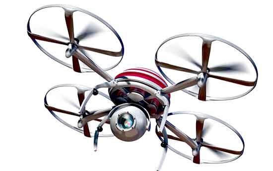 Drone spy camera
