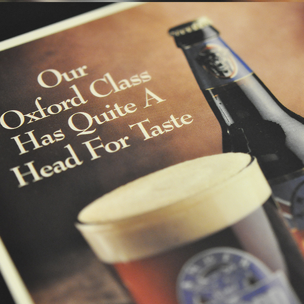 Oxford Class ad example