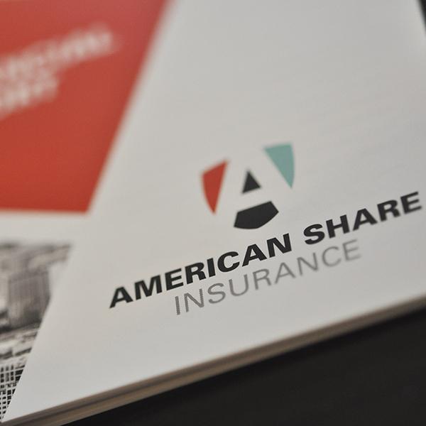 American Share brand identity example