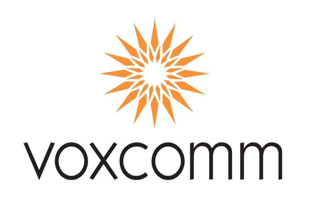 Voxcomm logo in color