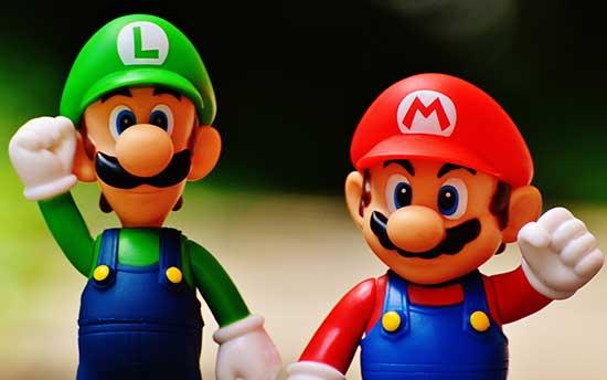 Mario and Luigi team building