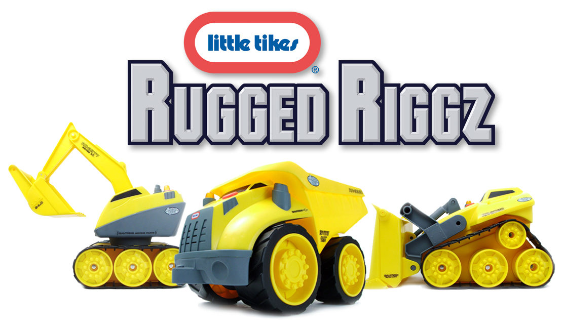 Rugged Riggz toy identity development