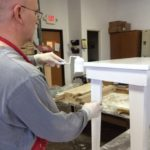 Assembling and painting furniture