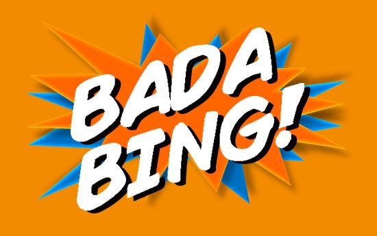 Bada bing, bada brand branding package