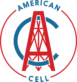 Old American Cell logo