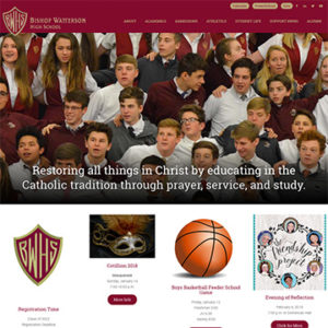 Watterson website homepage