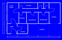 Blueprints are important for homes and marketing