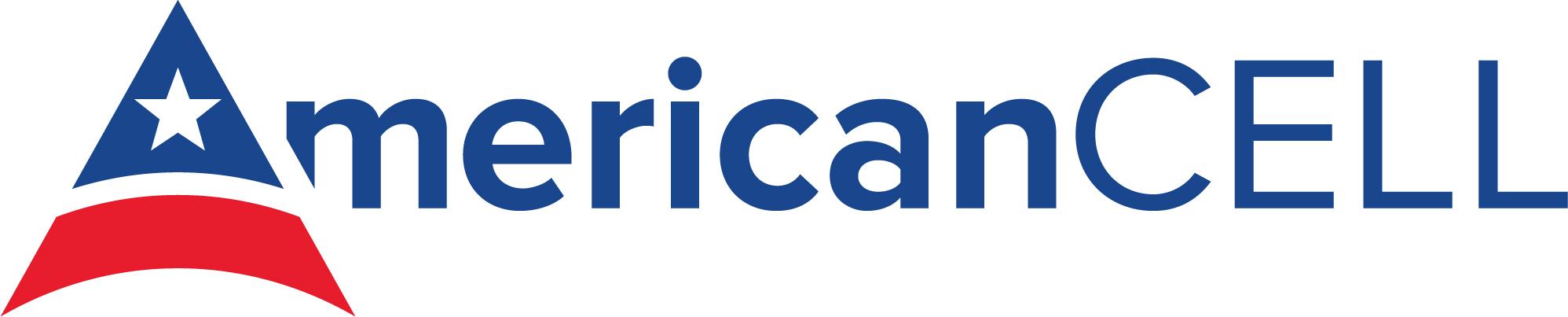 Horizontal American Cell company logo