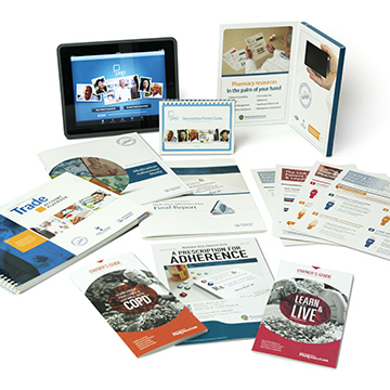 Boehringer Ingelheim Pharmacist Marketing Materials