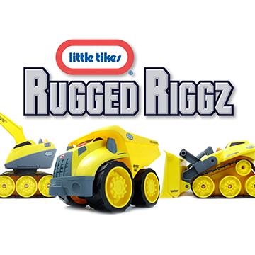 Little Tikes Rugged Riggz brand toys