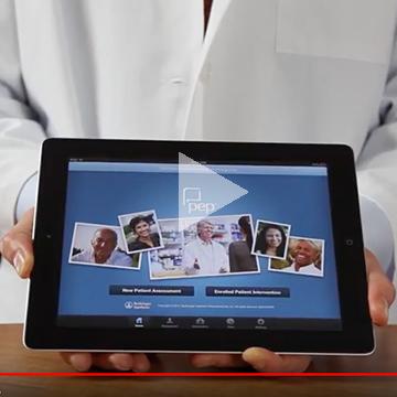 Still from ipad app demo video