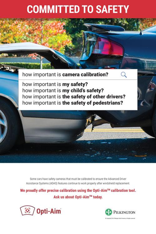 Safety camera calibration poster