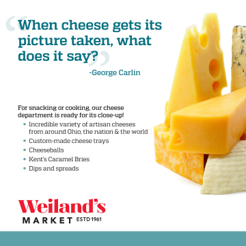 Weiland's cheese print ad