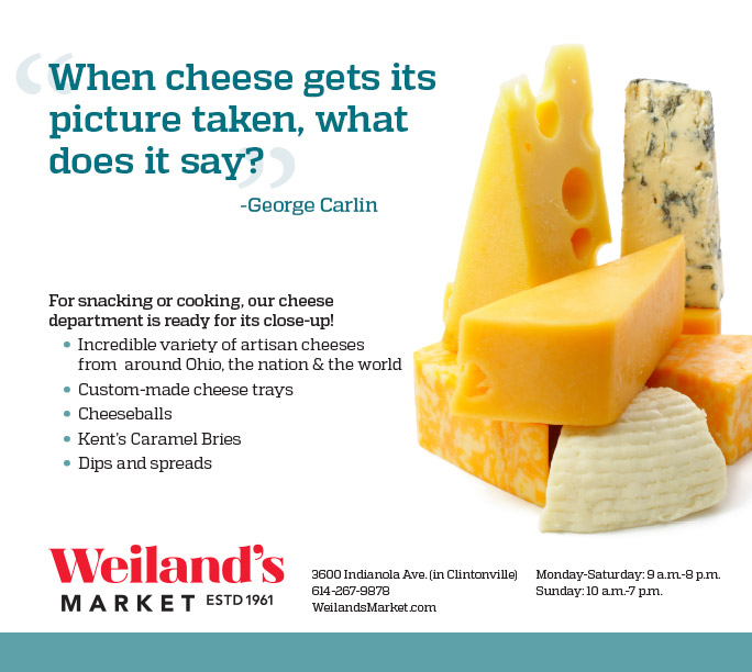 Cheese ad for local grocery store
