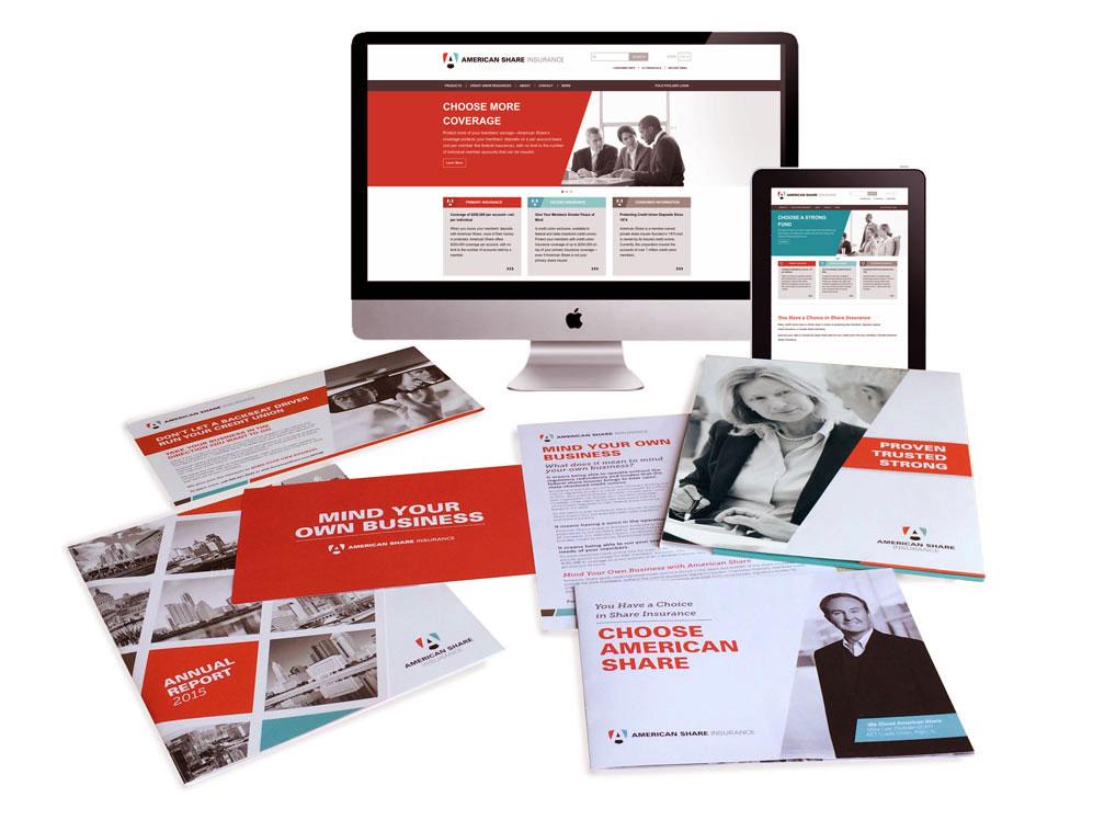 American Share strategic marketing materials