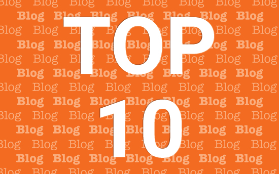 Top 10 blog posts