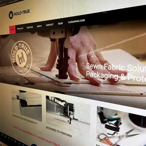 Hold True Website Design